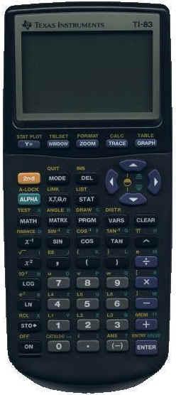 Ti 83 Calculator. TI-83 Graphing Calculator