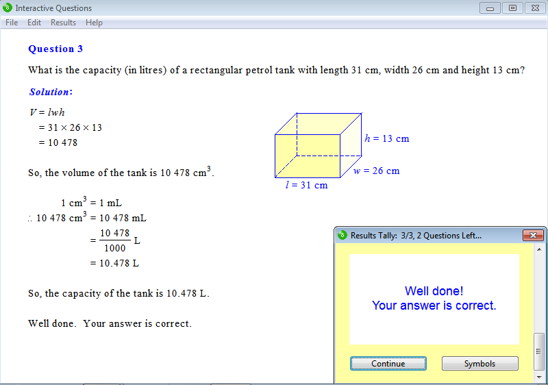 Solution for a question from Year 8 Interactive Maths, Chapter 13 ...