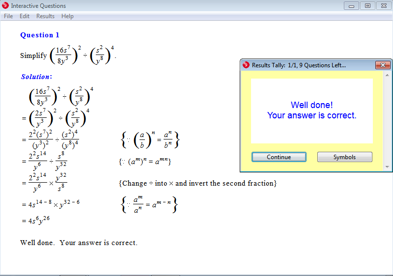 Year 9 Interactive Maths Software, Mathematics Software or ...